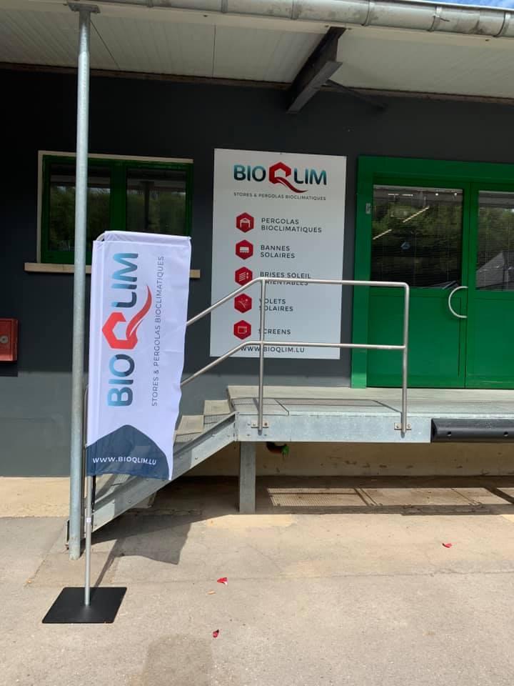 Panneaux en Dibond & Beachflags – BioQlim