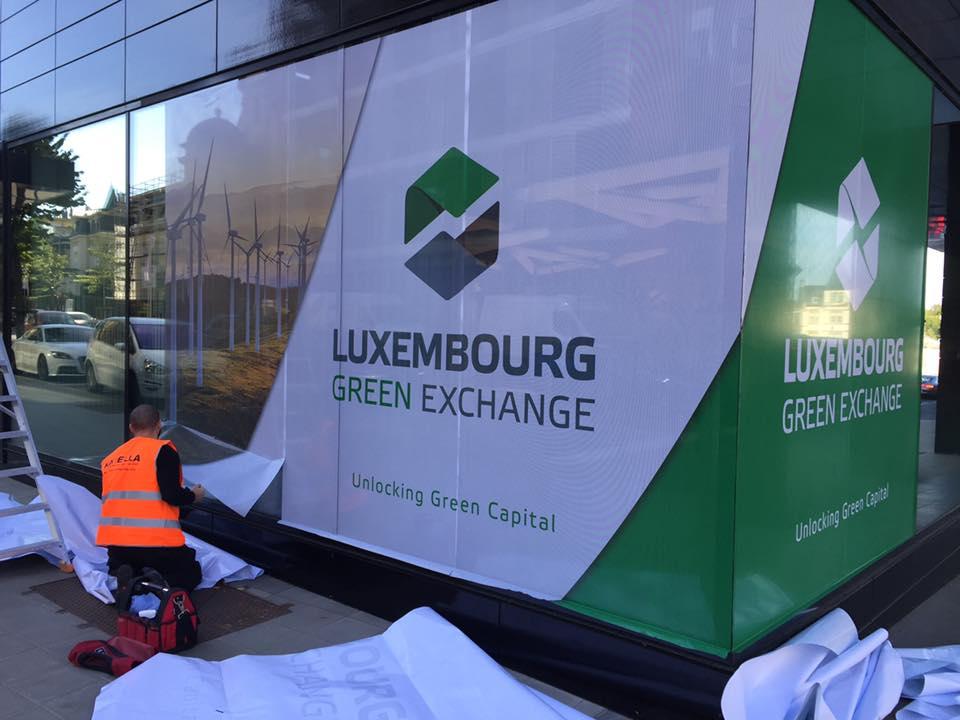 Lettrage entreprise – Green Exchange