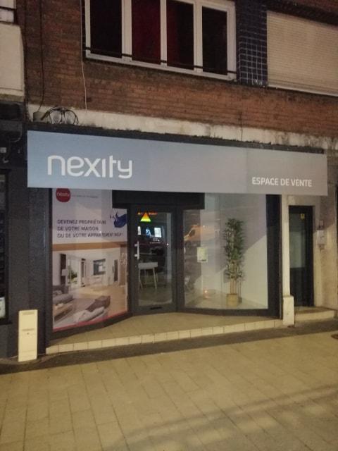 Nexity : Enseigne et bardage dibond