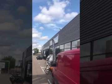 Enseigne lumineuse bâche de tension Loisi Bike